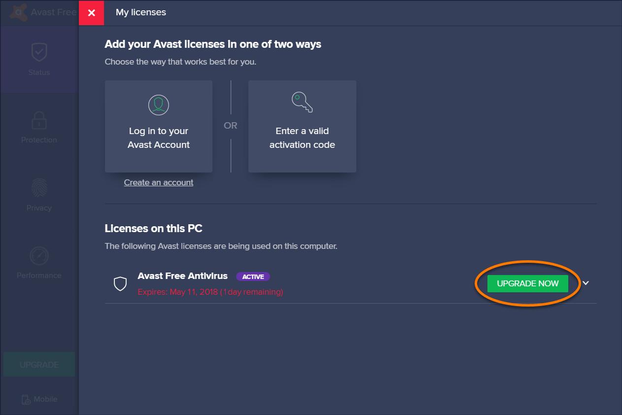 Avast Free Antivirus 2019 Key