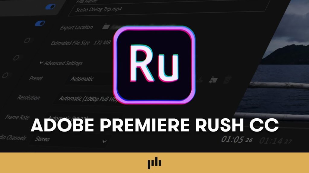 Adobe Premiere Rush CC v1.5.62 Crack + Activator (2022) Full Download