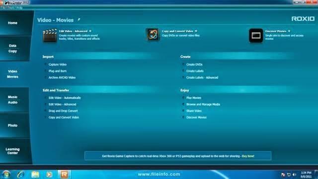 Roxio Creator NXT Pro Crack 21.1.5.9 + Serial Key Full Download